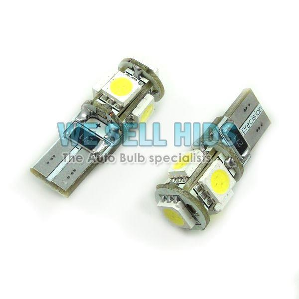 LED SMD PARKING LIGHTS BULBS Ford Fiesta MK7 CANBUS 501 MK6 FOCUS RS ST CORSA