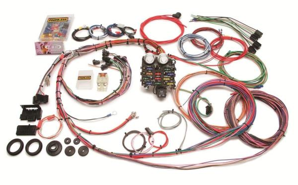 painless performance 19 circuit 63 66 gmc chevy truck wiring harness