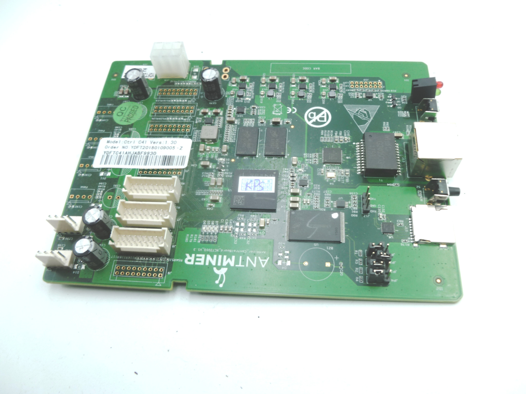 Details about GOOD USED Bitmain Antminer S9 S9I S9J R4 T9 Control Board  NoVirus 3 mth warranty