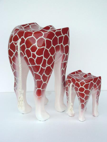 Rainforest Giraffe Bar Stool Animal Bar Stool