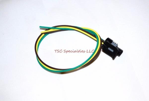 3 Wire Coolant Temperature Sensor Pigtail Harness Connector 97-98 ...