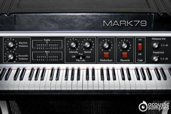 Details about New AcousticSamples Mark 79 Electric Piano UVI VST AU Mac PC  Software