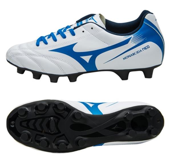 812fd44c5a9 Mizuno Men Monarcida Neo MD Cleats Soccer White Football Shoes Spike ...