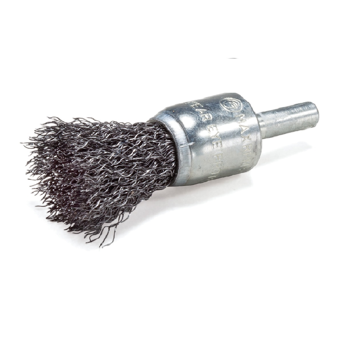 """3//4/"""" Wire Knot End Brush Carbon Steel 1//4/"""" Shank For Die Grinder//Drill 5 Pack"""