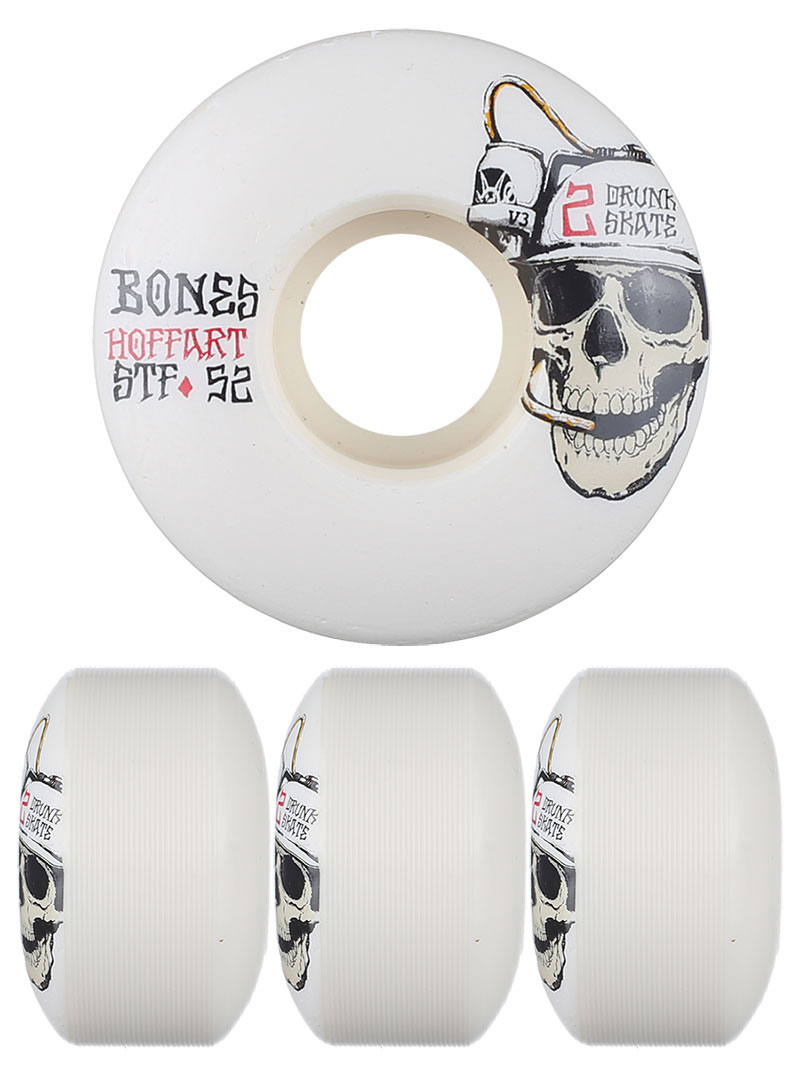 Bones Skateboard Wheels Hoffart Beer Master 52mm V3 STF FREE POST