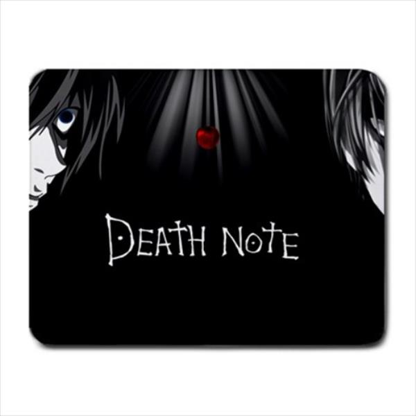 New Anime Death Note Mouse Pad Hollow Slim Square Mat Mouse pad For PC