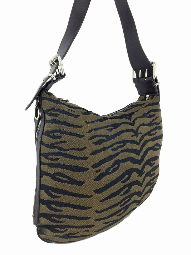 Fendi Animal Print Canvas Medium Shoulder Bag. Liquid error  Index was out  of range. Must be non-negative and less than the size of the collection. 98e546c14bded