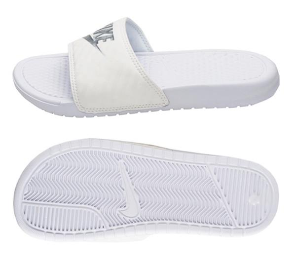 a012e4336bea5d Nike Women BENASSI JDI Slipper Shoes Flip Sports White Beach ...