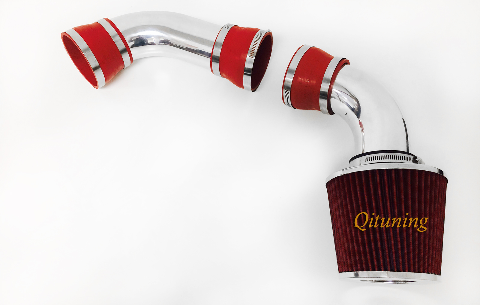 High Performance Parts Heat Shield Cold Air Intake Kit /& Red Filter Combo Compatible for Chevy 1996-2004 S-10 1996-2001 Jimmy Blazer//Sonoma V6 3.4L