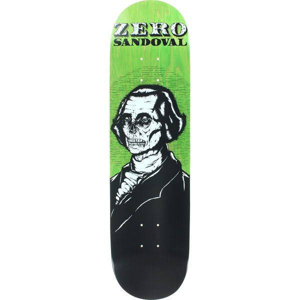 Zero Skateboard Deck Tommy Sandoval Dead Presidents R7 FREE POST FREE GRIP New kingpin skate supply