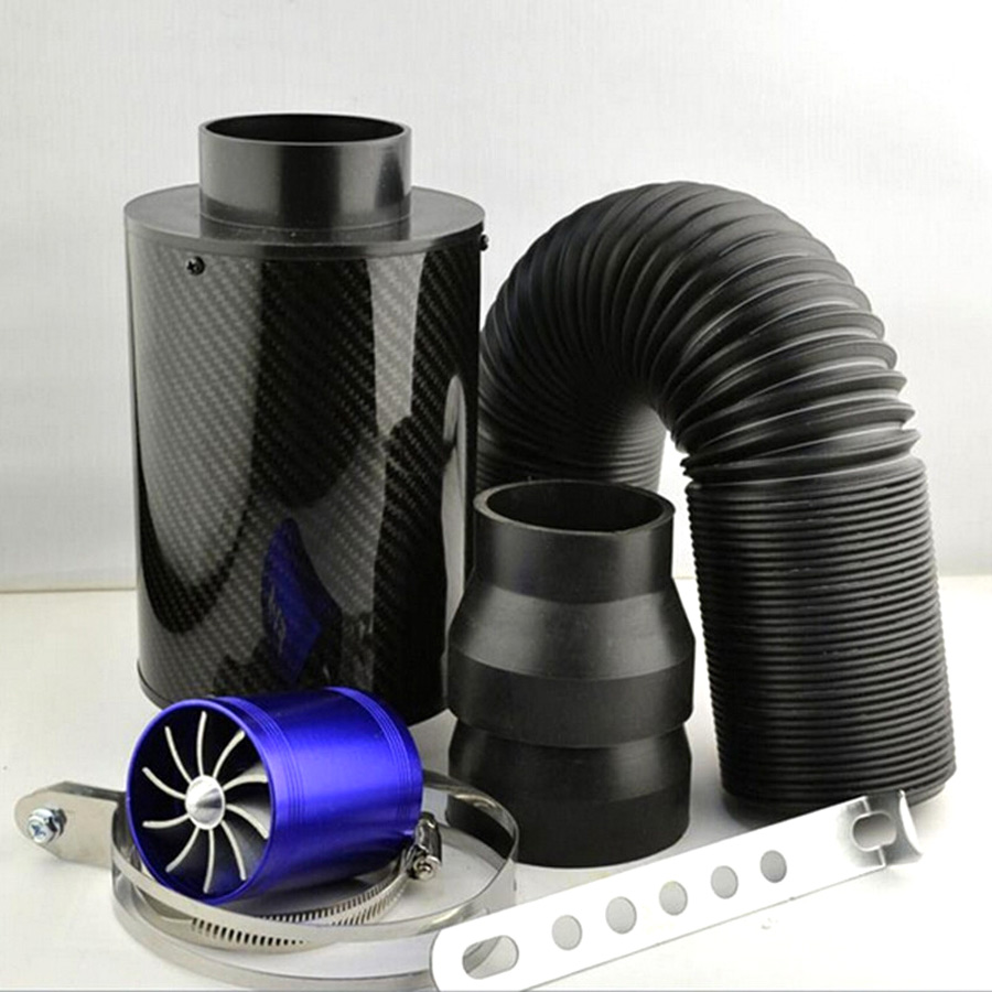 CARBONE BOX AIR TURBO COLD INTAKE NEW FILTER SYSTEM