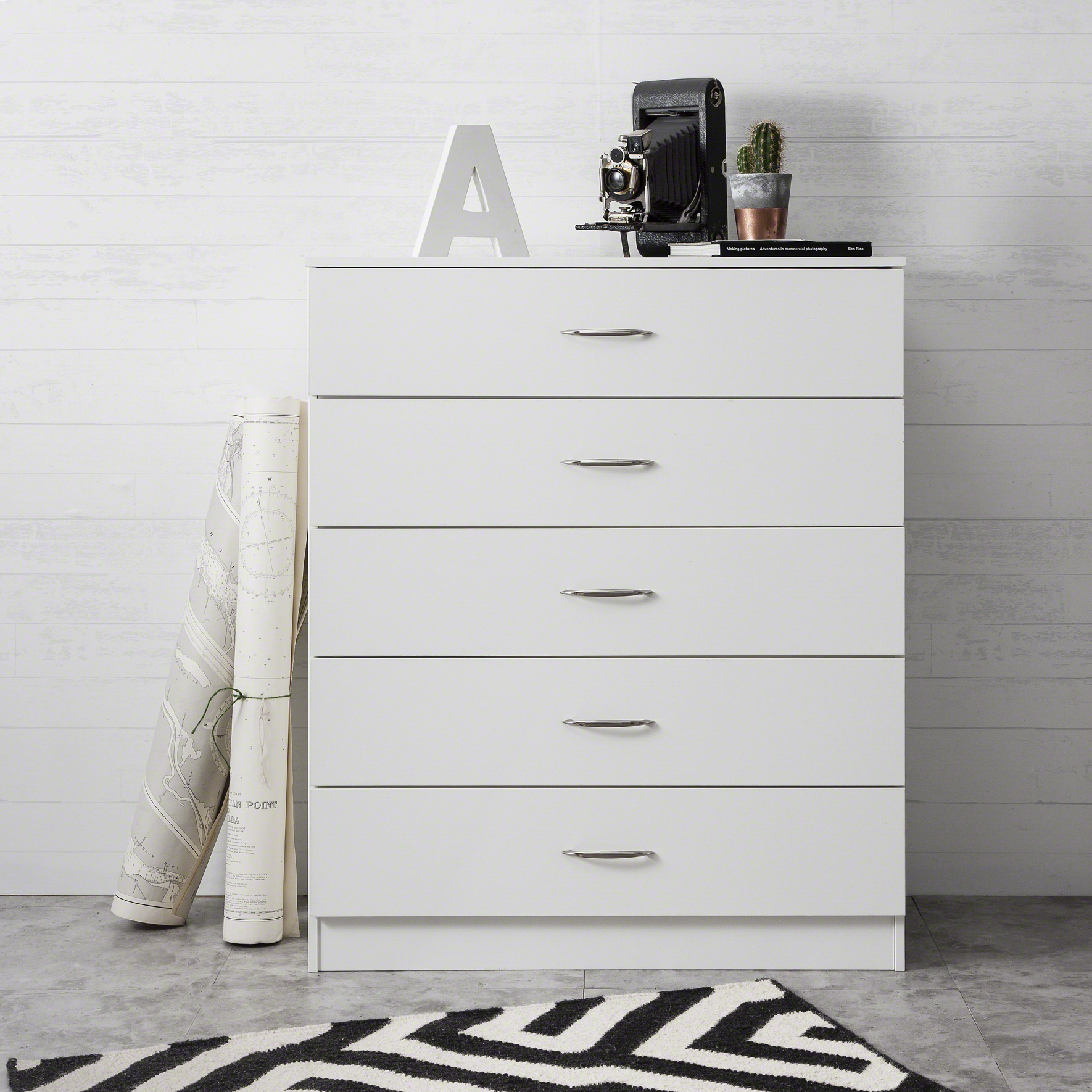 Laura James Bedroom Chest of Drawers Draws