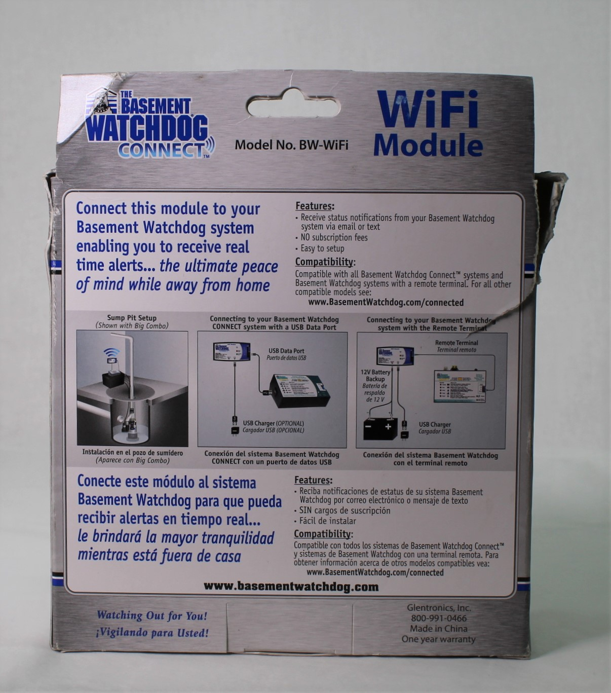 Details about The Basement Watchdog Connect WiFi Module Model No  BW-WiFi  Remote Monitoring
