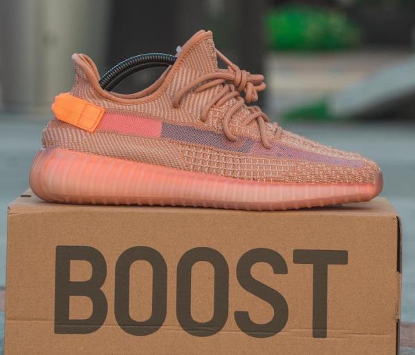 huge selection of 0129a c2324 Details about Adidas Yeezy Boost 350 V2 Clay 100% auth. Size 8-12 Mens  Shoes Kanye West EG7490