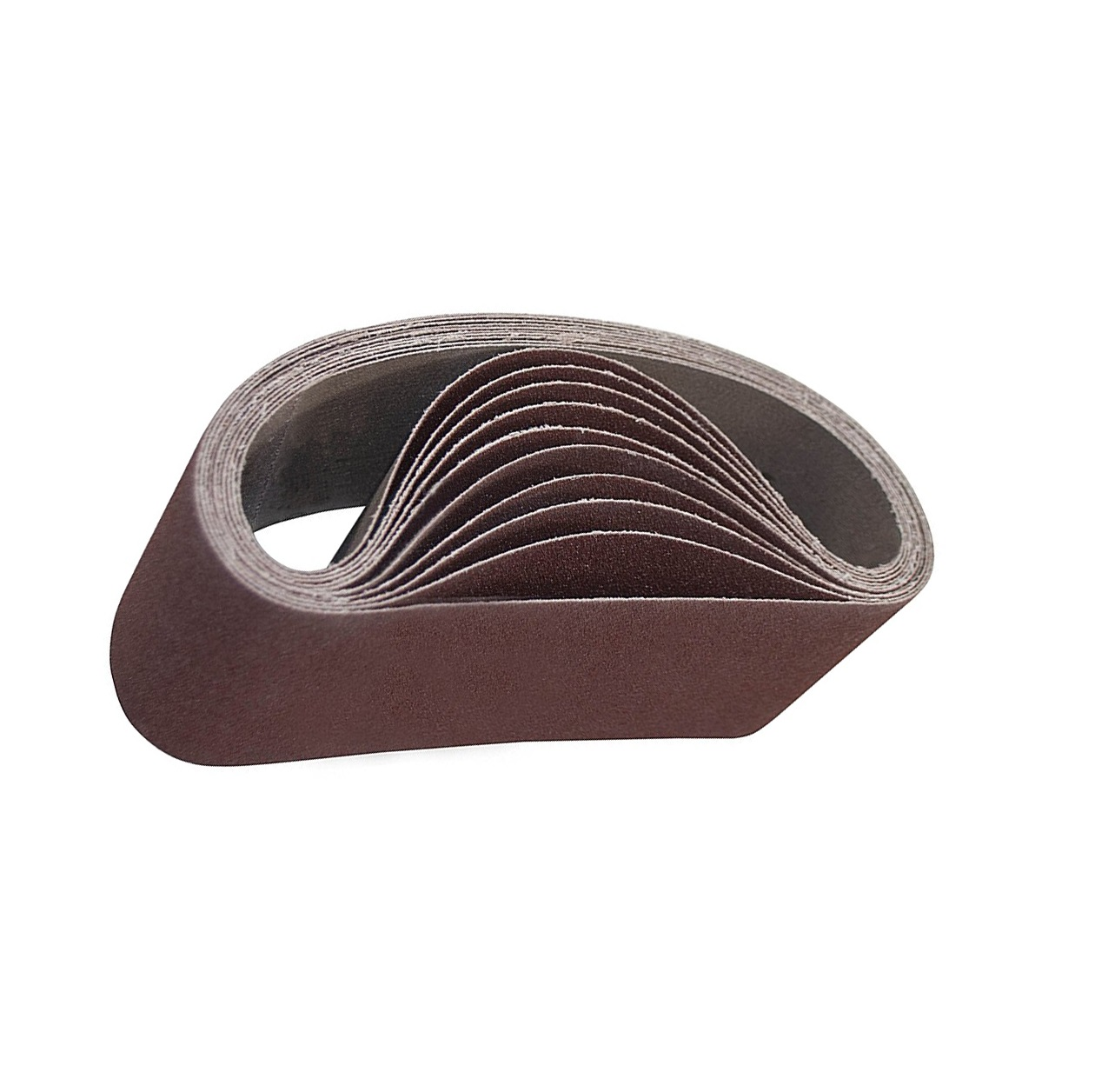 "2/"" x 72/"" Inch 600 Grit Aluminum Oxide Sanding Belts for Metal or Wood 10 PACK"