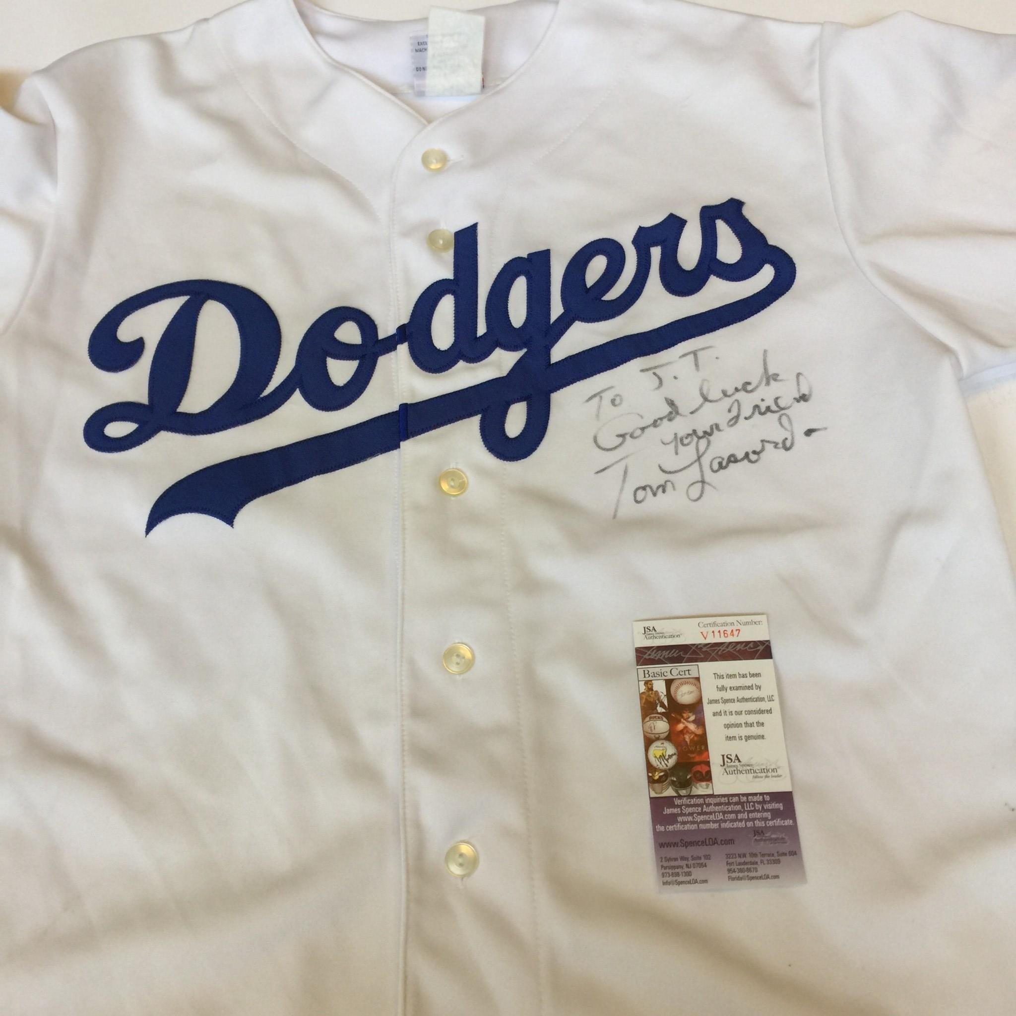 Tommy Lasorda Signed Autographed Authentic Los Angeles Dodgers ... a172f73ee95