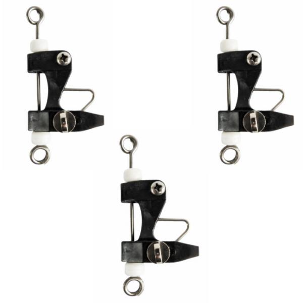 9 Release Clips Boating /& Fishing for Kite Outriggers Downriggers