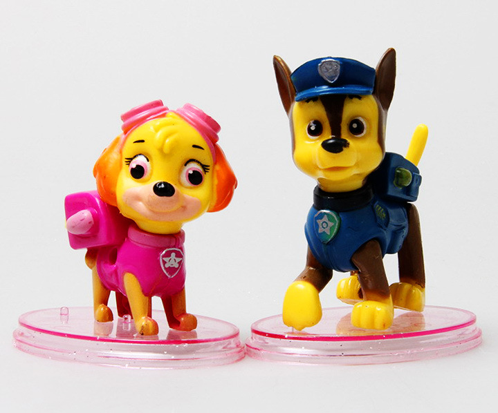 Cake Toppers 8x Paw Patrol Action Figure Figurine Dog Puppy Rescue