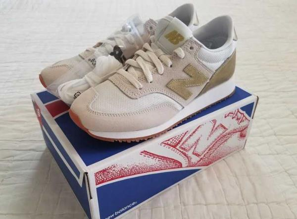 Details about WOMEN'S 6.5 9.5 10 10.5 NEW BALANCE FOR J CREW 620 SNEAKERS IN GOLD SALT SHOES