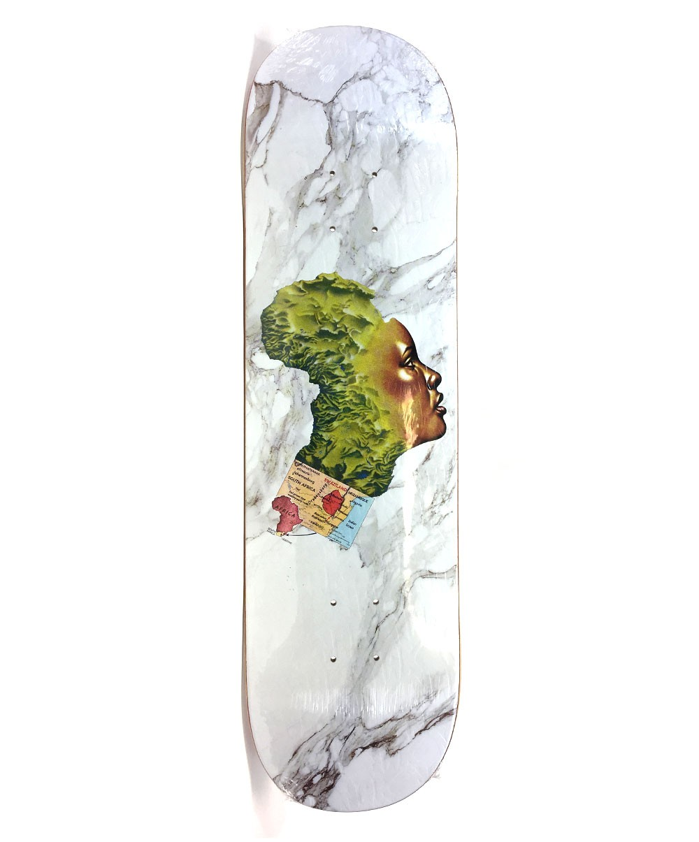 Fucking Awesome Skateboard Deck Na-Kel Nak 8.25 Mother Africa FREE POST and GRIP