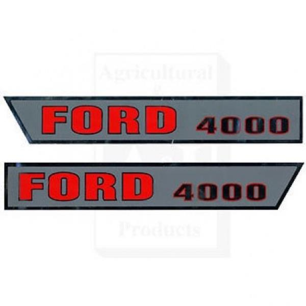 FORD TRACTOR HOOD BUMPERS FOR 2000 2600 3000 3600 4000 4600 5000 7000 M-81823467