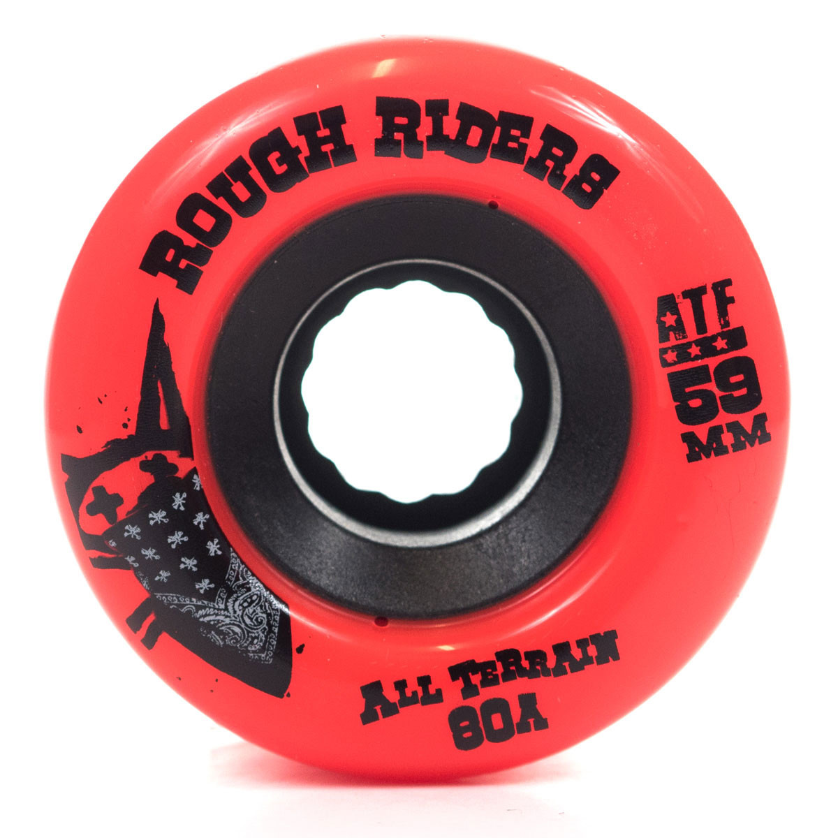 Bones Skateboard Wheels Rough Riders Red 59MM 80B ATF FREE POST