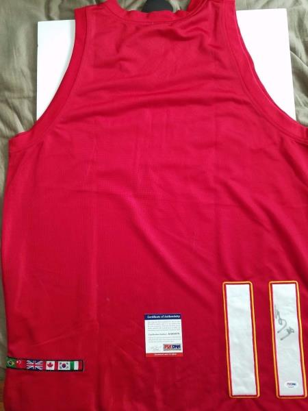 quality design b92a2 221d4 Details about Yao Ming signed jersey PSA/DNA Team China Autographed