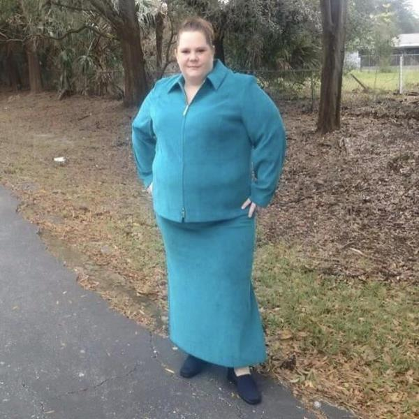 Details about Cato Plus Size Teal Skirt Outfit, Size 3X / 22W
