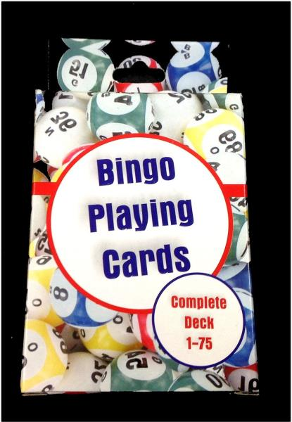 Details About New Bingo Playing Cards Complete Deck 1 75 Size 2 1 2 X 3 1 2 Free Shipping