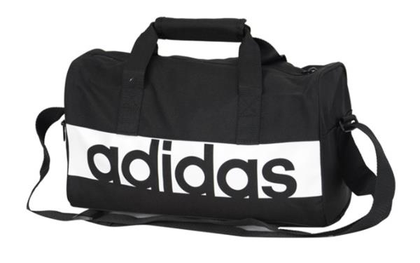 30f80864e1 Details about Adidas Linear Performance Bags Black Running Soccer Cross Bag  GYM Sacks S99950