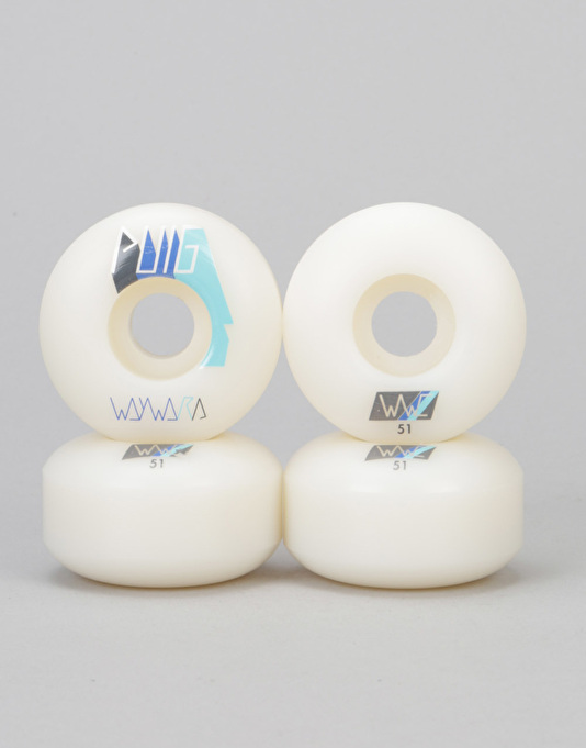 Wayward Skateboard Wheels Puig 51mm Shapeshifter New FREE POST