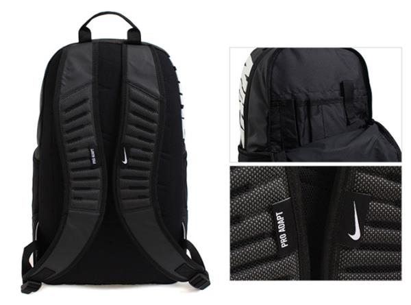 Nike Pro Alpha ADAPT REV Backpack Bags Sports Black Unisex Casual ... 0c92fca99cb5a