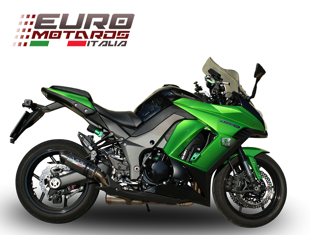 kawasaki z 1000 sx 2011 2016 gpr exhaust dual silencers. Black Bedroom Furniture Sets. Home Design Ideas