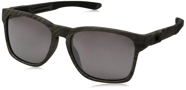 d26dc84c2f  OO9272-20  Mens Oakley Catalyst Sunglasses - Woodgrain w  Prizm Daily  Polarized