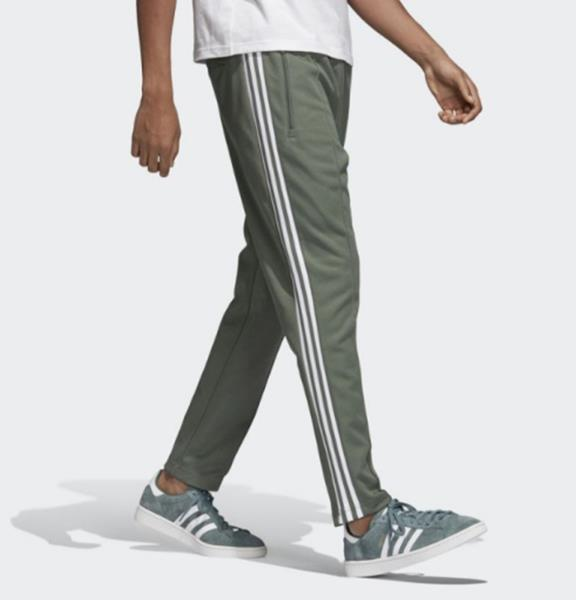 Details about Adidas Men Originals Beckenbauer Track Pants Green Training Running Pant DH5818
