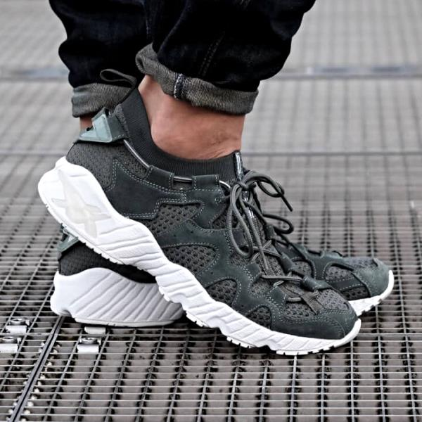 Asics Gel Mai Knit Sneakers Dark Forest Size 7 8 9 10 11 Mens Shoes ... 1bec5e289d93f