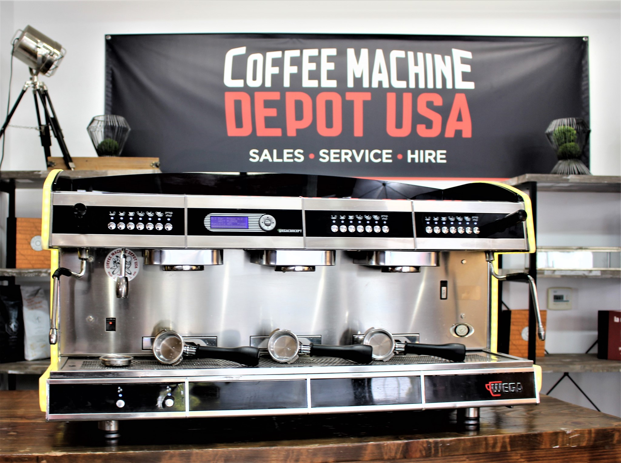 Details about WEGA Concept USB 3 Group Multi Boiler Commercial Espresso  Coffee Machine