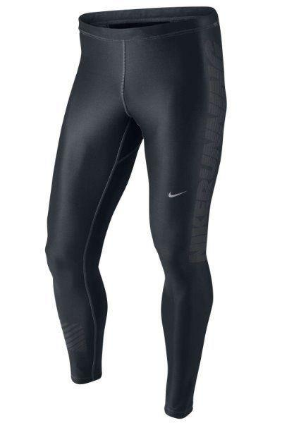 ced4dee4a9730 Details about Men's Nike Running Training Tights Warm SZ L 526763-010  Engineered Print Dri Fit