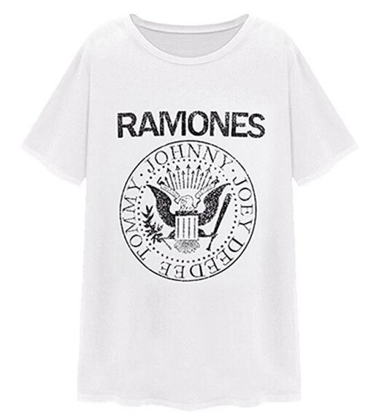 625f72f3 Small Men's RAMONES Quiksilver Tee Shirt Classic Rock Presidential Seal T- Shirt. Brand New, without tags ...