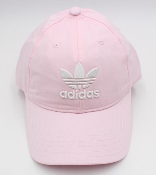 Details about Adidas Originals Trefoil Caps Running Hat Pink OSFW OSFM Hats Cotton Cap DJ0882