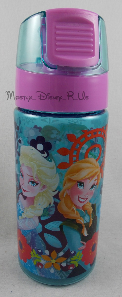 Disney Store Frozen Elsa Anna Aluminum Water Bottle Thermos for backpack tote