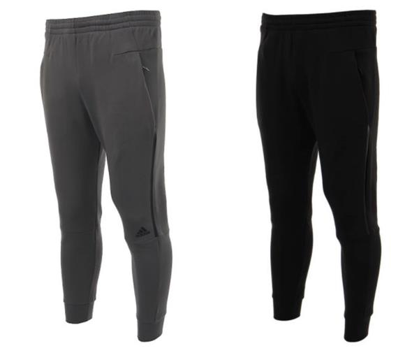 Details about Adidas Men ZNE Striker Training Pants LS Black Gray Running Jogger Pant BQ7042