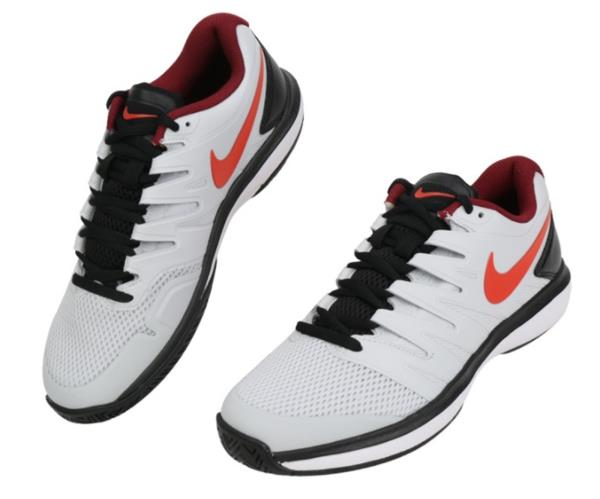 a5a057bba307 Nike Men Air Zoom Prestige HC Shoes Running White Black Sneakers ...