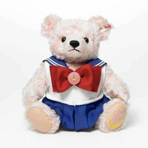 Details about Steiff x Sailor Moon 25th anniversary Limited Teddy Bear 1992  Units Japan F/S