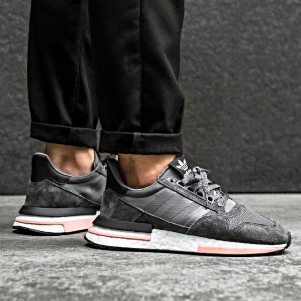 detailed look a4083 e311e Details about Adidas ZX 500 RM Sneakers Grey Five Size 8-12 Mens NMD Boost  Y-3 Ultra New