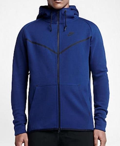 Details about NIKE Tech Fleece Windrunner Hero Royal Blue Full Zip Hoodie  Jacket NEW Mens XL