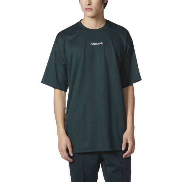 Details about [BS4774] Mens Adidas Originals TNT Tape Tee T-Shirt - Green  White