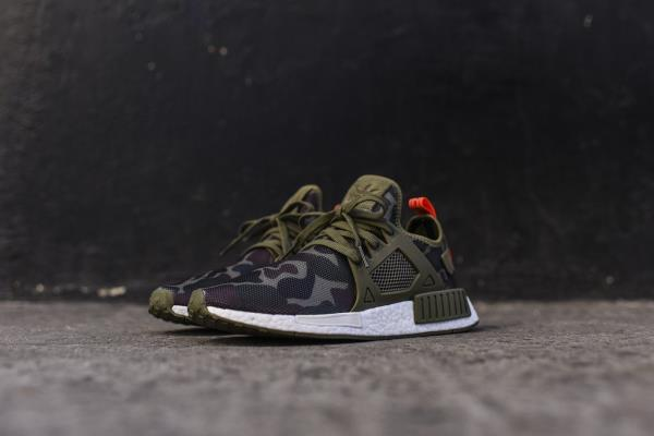 Adidas NMD Runner XR1 Camo Pack WHITE Black S32216 Mens