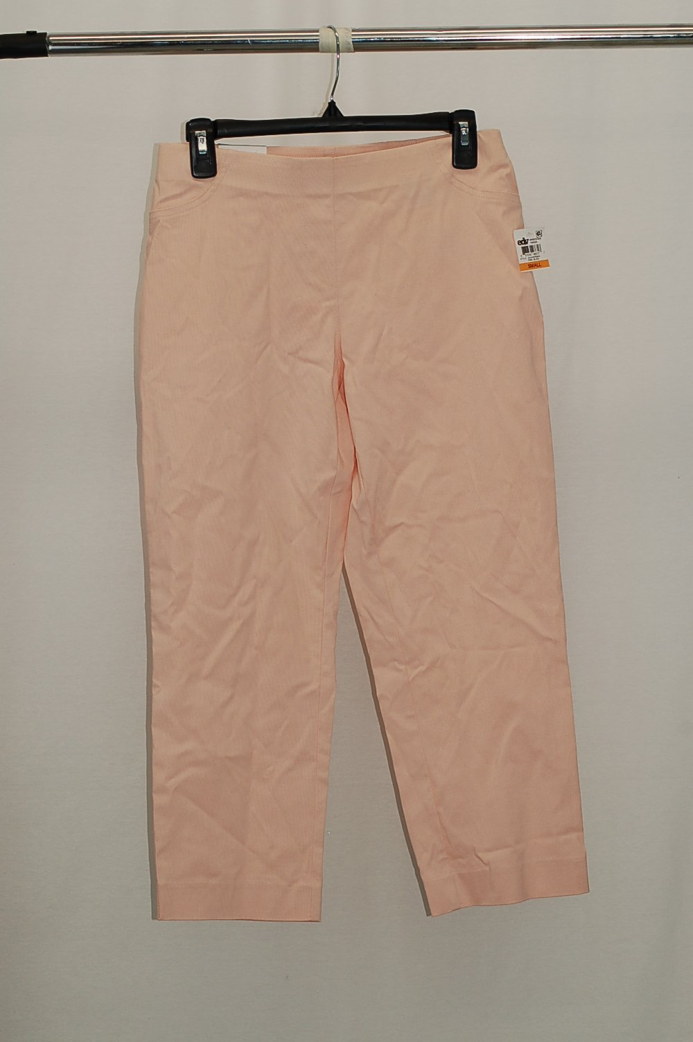 a9b91c176478dd Style Co Pull-On Capri Pants Pink Bliss S | eBay