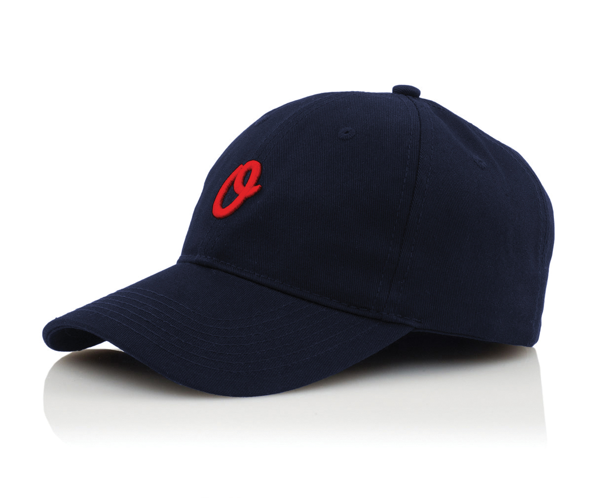 Official Cap Miles Olo Sport Navy 6 Panel Unstructured Strapback Skateboard Hat